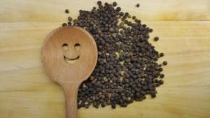 Pepper Close up background
